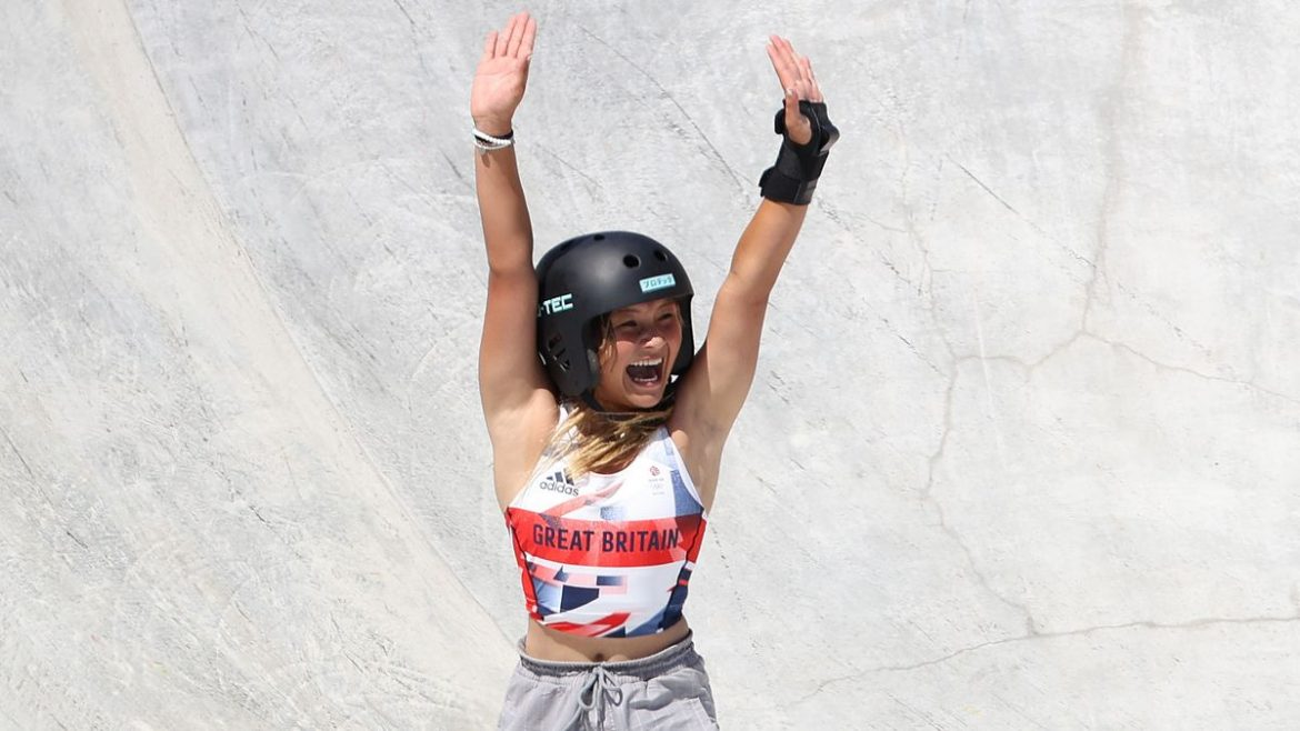 Sky Brown's Olympics success sends sales of skateboards to Brit girls soaring