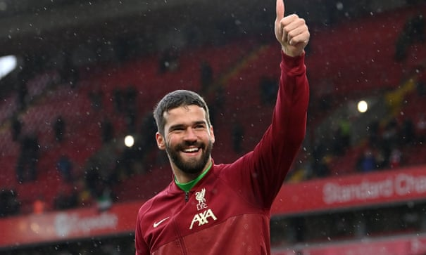 Liverpool goalkeeper Alisson extends Anfield stay with new six-year contract